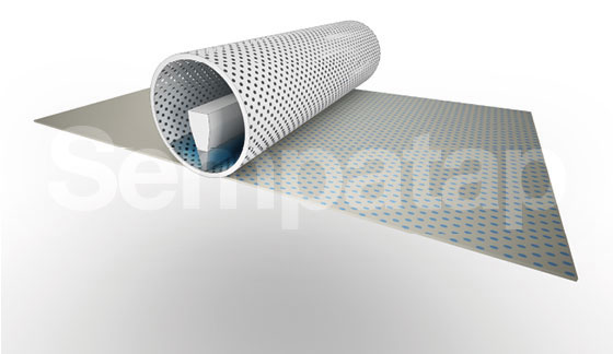 Herstellungsverfahren Sempatap: Rotationsdruck