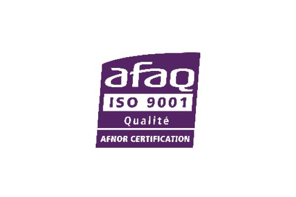 Zertifizierung AFAQ ISO 9001