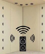 SempaTap ist eine Lösung zur Schallabsorption für Wände und Decken.