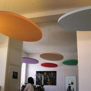 Die Akustikplatten ABSOPANEL sind in einer Vielzahl von Farben erhältlich.