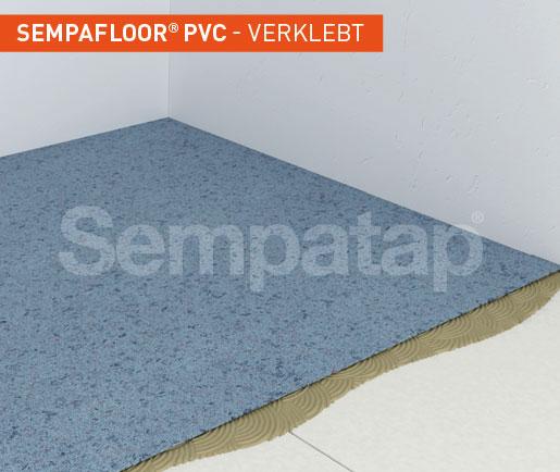 SempaFloor PVC, Schalldämmung unter dem Bodenbelag und PVC-Beschichtung
