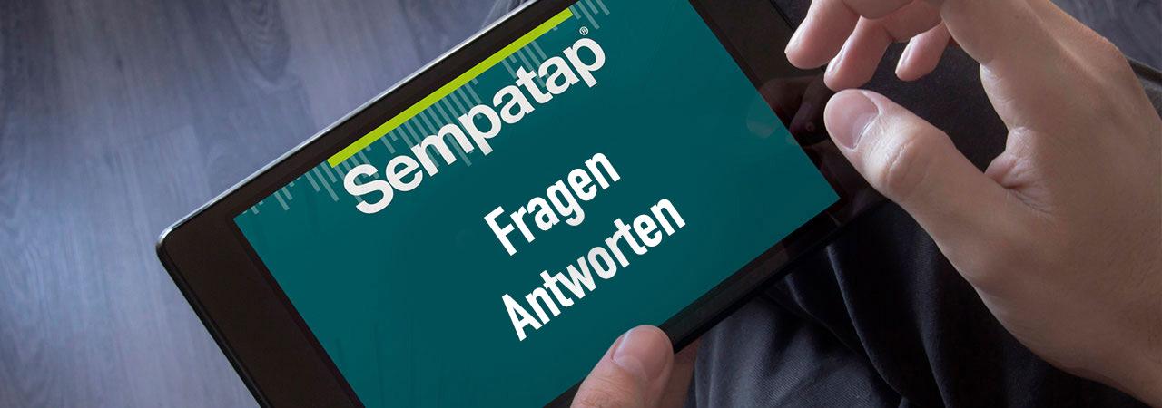 Fragen und Antworten von Sempatap zu Schall- und Wärmedämmung, Schallabsorption und Installation der Sempatap-Produkte.